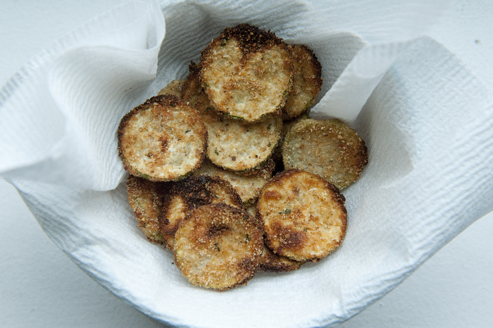Danielle Faletra Baked Zucchini Chips